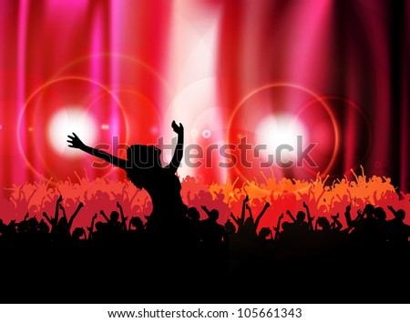 Party vector illustration - stock vector