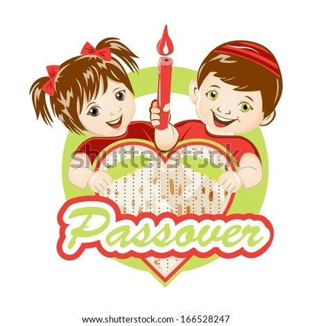 Passover (Removing all chametz) - stock vector