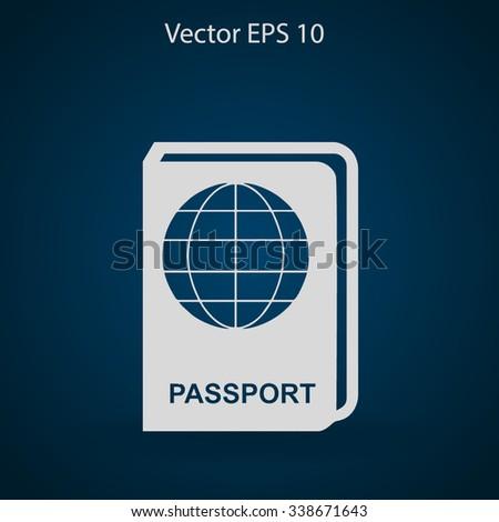 Passport vector illustration - stock vector
