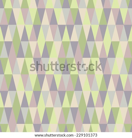 pastel seamless geometry - stock vector