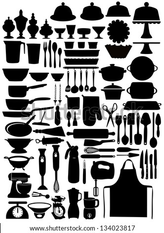 Pastry set - stock vector