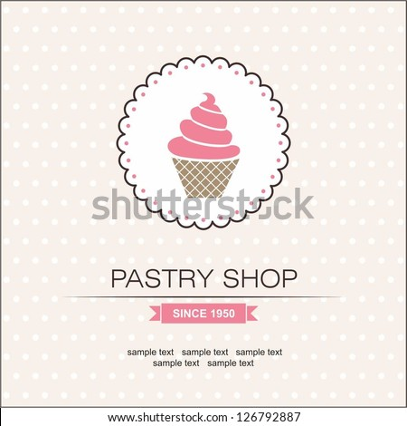 Pastry Shop - stock vector