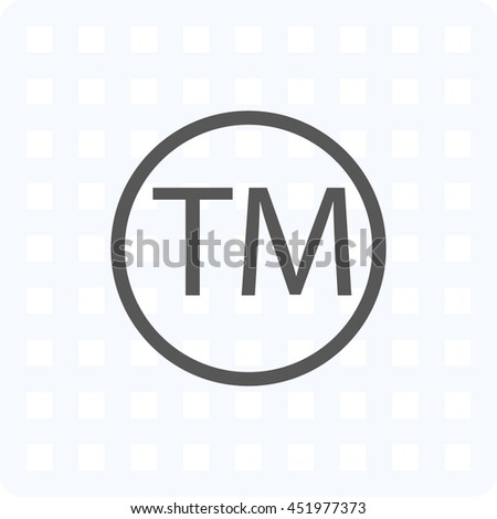 patented icon, vector illustration - stock vector