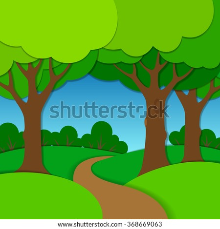 cartoon road stock photos images amp pictures shutterstock