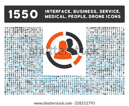 Patient Diagram and other web interface, business tools, people poses, medical service vector icons. Style is flat symbols, bicolored, rounded angles, white background. - stock vector