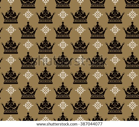 pattern,design pattern,pattern design,seamless pattern,background pattern,wallpaper pattern,damask pattern,vintage pattern,crown pattern,pattern art,fabric pattern,retro pattern,pattern crown,vector - stock vector