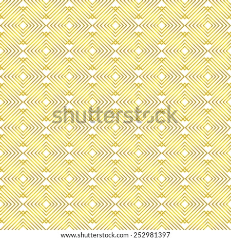 Pattern gold seamless background - stock vector