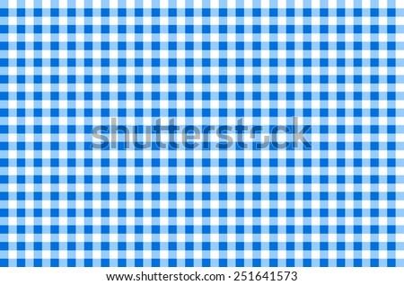 Pattern picnic tablecloth vector. blue tartan, 10 eps - stock vector