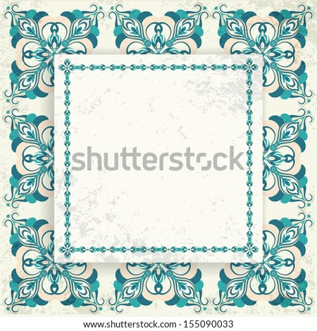 Pattern sq - stock vector