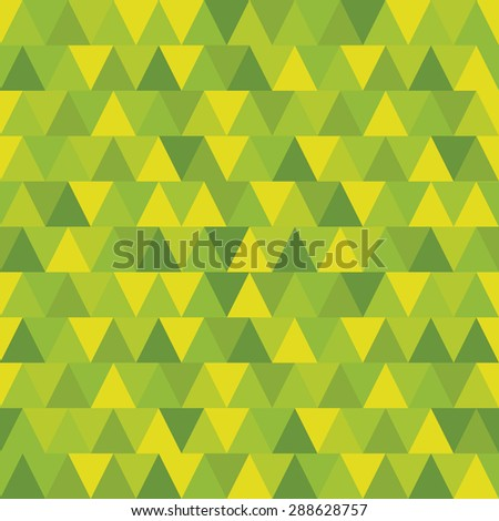 Pattern Vector Seamless Polygon Yellow for different purchase - stock vector