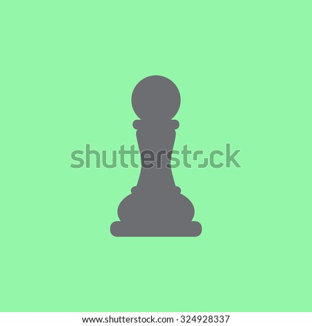 Pawn icon - stock vector