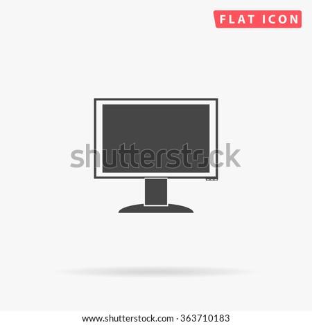 PC monitor Icon Vector. PC monitor Icon JPEG. PC monitor Icon Picture. PC monitor Icon Image. PC monitor Icon Art. PC monitor Icon JPG. PC monitor Icon EPS. PC monitor Icon AI. PC monitor Icon Drawing - stock vector