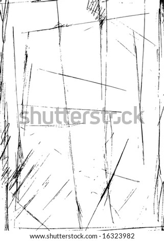 Pen strokes and scratches. Check my portfolio for similar design elements! - stock vector