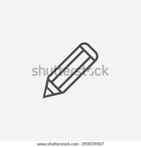 pencil Icon, pencil Icon Vector, pencil Icon Art, pencil Icon eps, pencil Icon Image, pencil Icon logo, pencil Icon Sign, pencil icon Flat, pencil Icon design, pencil icon app, pencil icon UI - stock vector