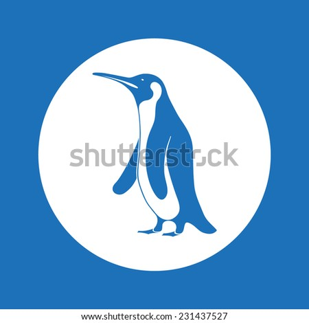 penguin - stock vector