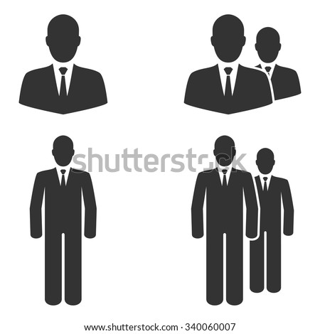 People icons,Vector EPS10. - stock vector