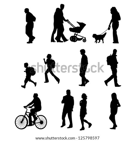 People Walking Stock Photos, Images, & Pictures | Shutterstock