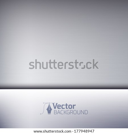 Perfect metal texture background - stock vector