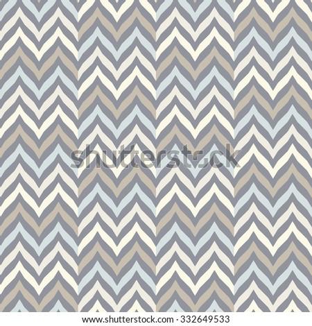 Perfect seamless Zig zag pattern. - stock vector