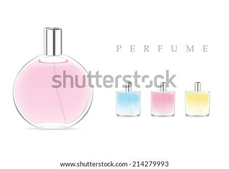 Perfume - stock vector