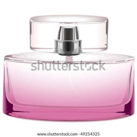 Perfume bottle - stock vector
