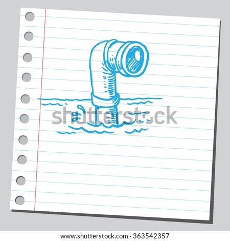 Periscope - stock vector