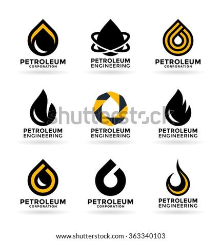 Petroleum Industry (2) - stock vector