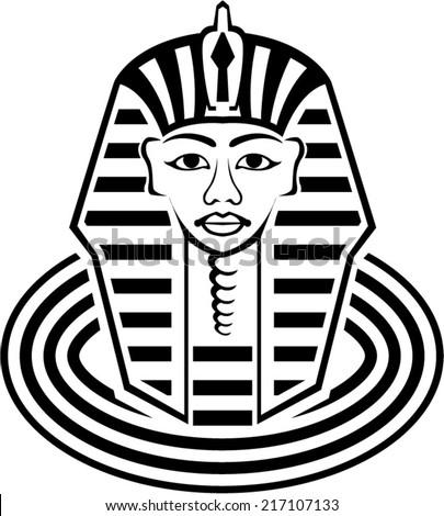 Pharaoh vector - stock vector