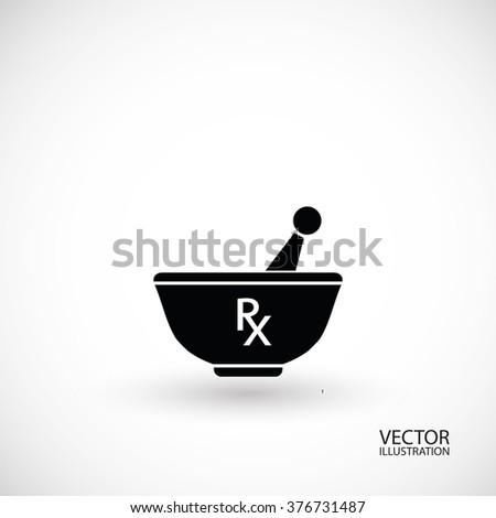 Pharmacy symbol - stock vector
