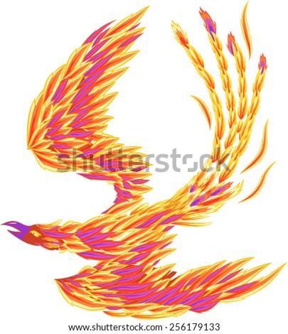 Phoenix - stock vector