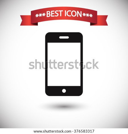 Phone icon vector - stock vector