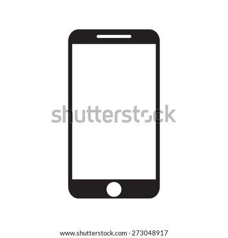 Phone icon vector illustration - stock vector