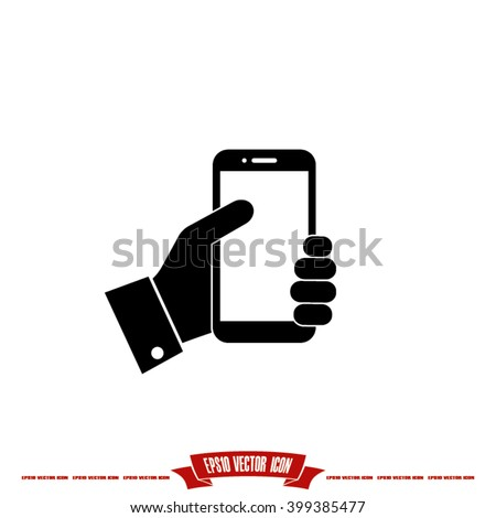 Phone icon vector illustration eps10 - stock vector