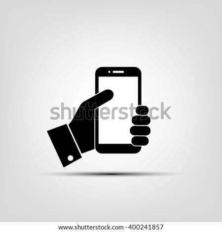 phone icon vector illustration eps10. - stock vector