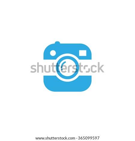 Photo icon vector illustration eps10. - stock vector