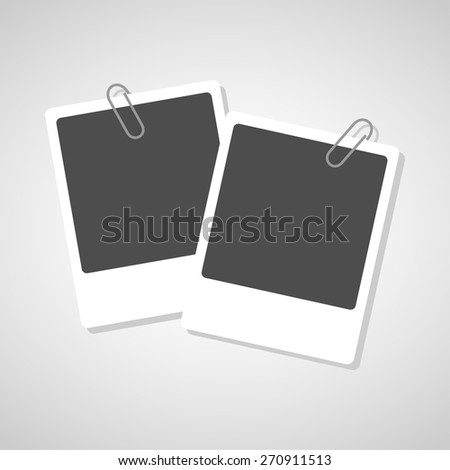 photo  icons set great for any use. Vector EPS10. - stock vector