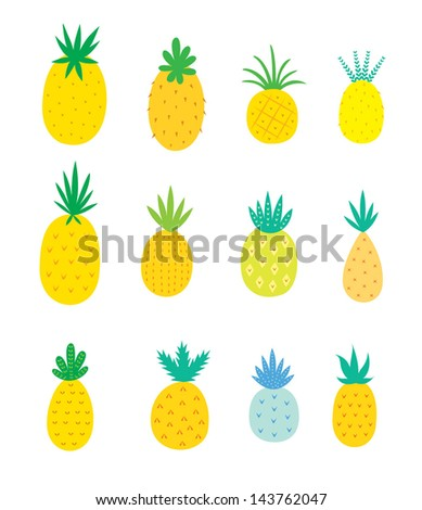 Pineapple Stock Photos  Illustrations  and Vector ArtPineapple Logo Vector