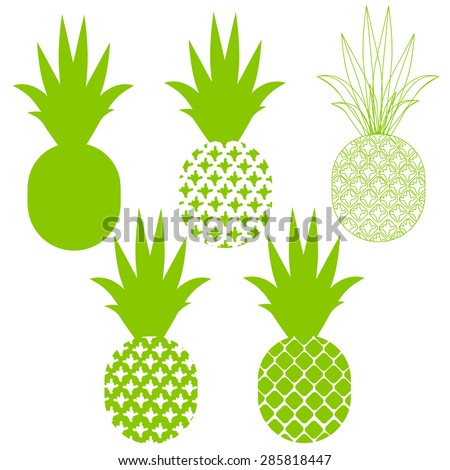 Cartoon pineapple Stock Photos, Images, & Pictures ...