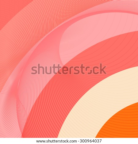 Pink and red background with diagonal stripes. Horizontal minimal and elegant backdrop. Can be use for cover catalogs, business card or other print. Vector version - stock vector