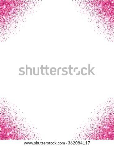 Glitter Frame Stock Vectors & Vector Clip Art | Shutterstock