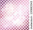 Pink mosaic background - stock vector