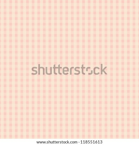 Pink Plaid Texture Design - stock vector