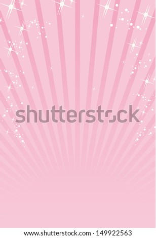 pink ray background Vector  - stock vector
