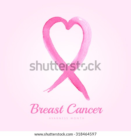 For symbol awareness cancer breast disease the