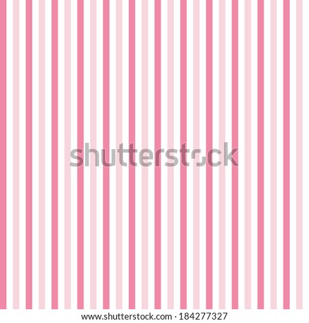 Pink stripes seamless pattern - stock vector
