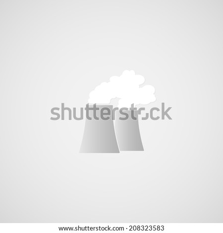 Pipes plant vector - stock vector