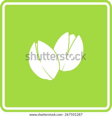 pistachios sign - stock vector