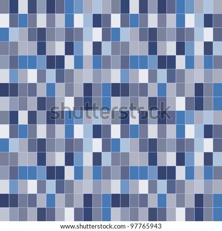 Pixel wallpaper - stock vector