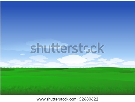 Plain nature background - stock vector