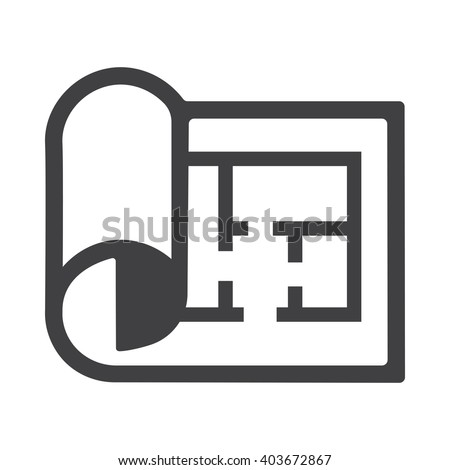 Plan icon, Plan icon eps10, Plan icon vector, Plan icon eps, Plan icon jpg, Plan icon path, Plan icon flat, Plan icon app, Plan icon web, Plan icon art, Plan icon, Plan icon AI, Construction icon. - stock vector